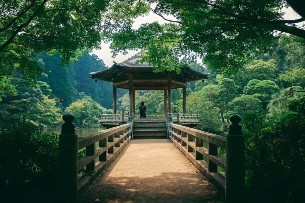 El precioso parque de Narita