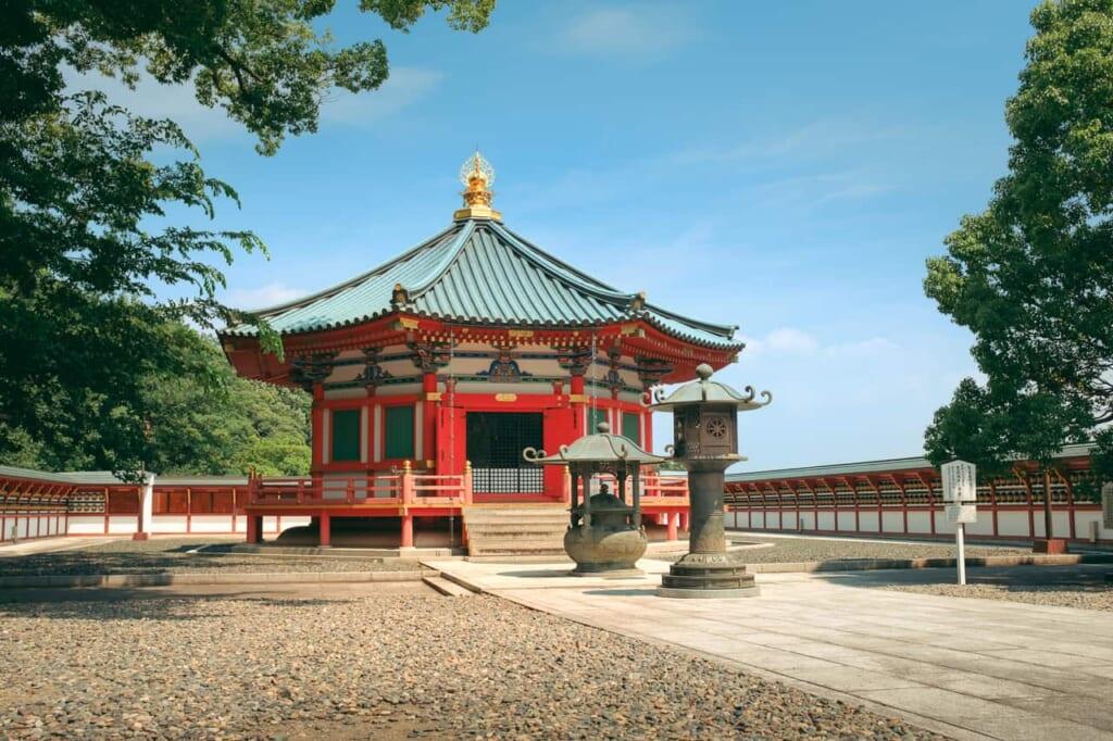 Jardín japonés y templo en Narita-San