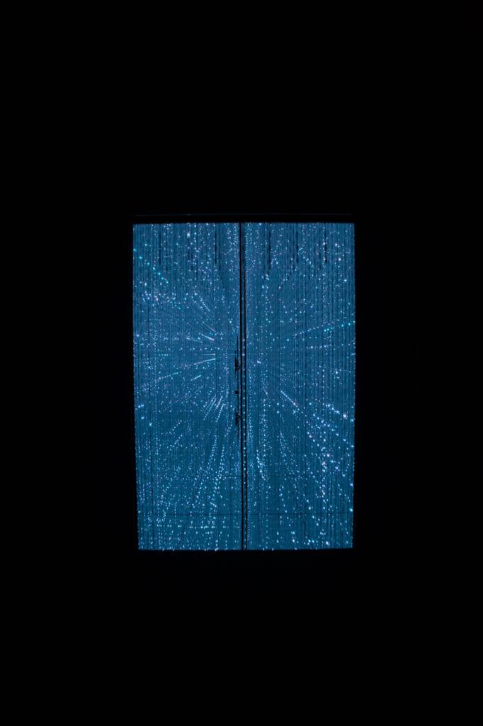 puerta a un universo de cristales de luz