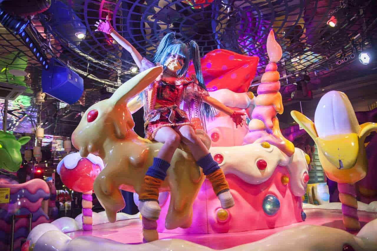 Kawaii Monster Cafe, la experiencia más psicodélica de Tokio en el corazón de Harajuku