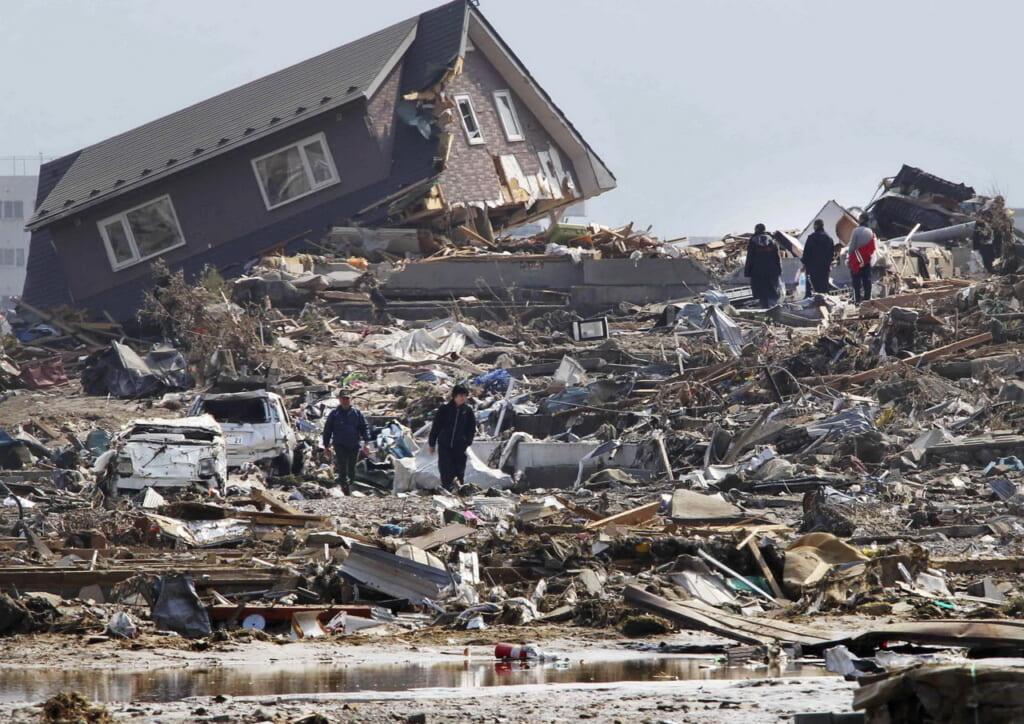 El terremoto del 2011