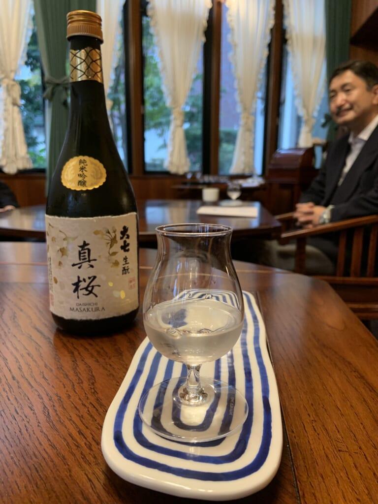Cata de sakes en Daishichi Sake Brewerey