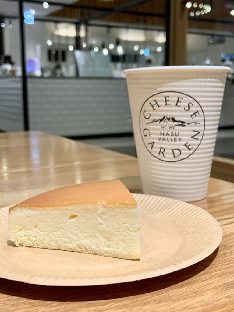 El cheesecake de Cheese Garden, Tochigi