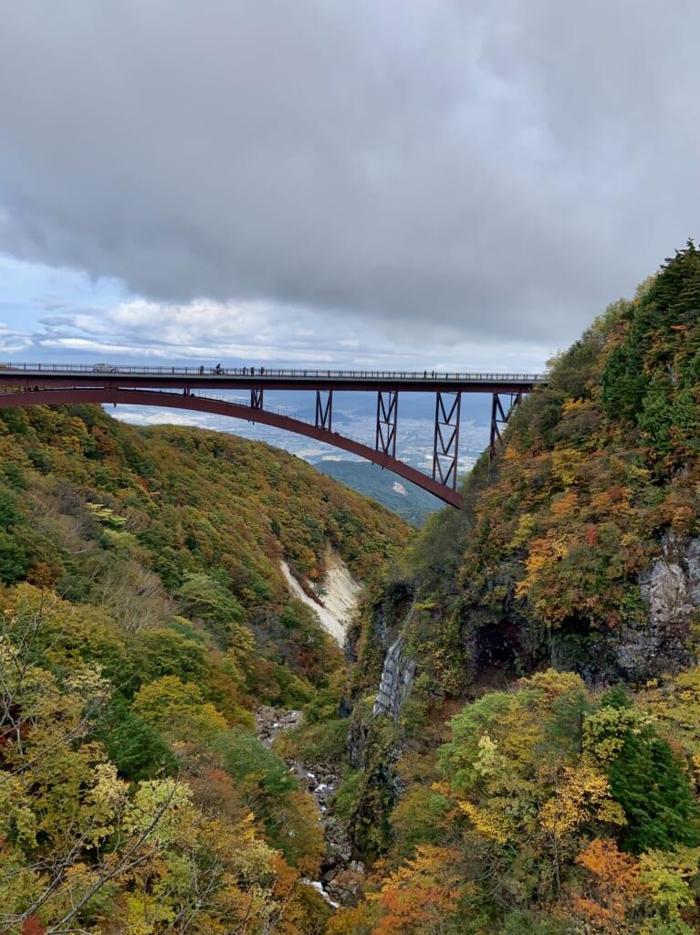 El puente Fudosawa