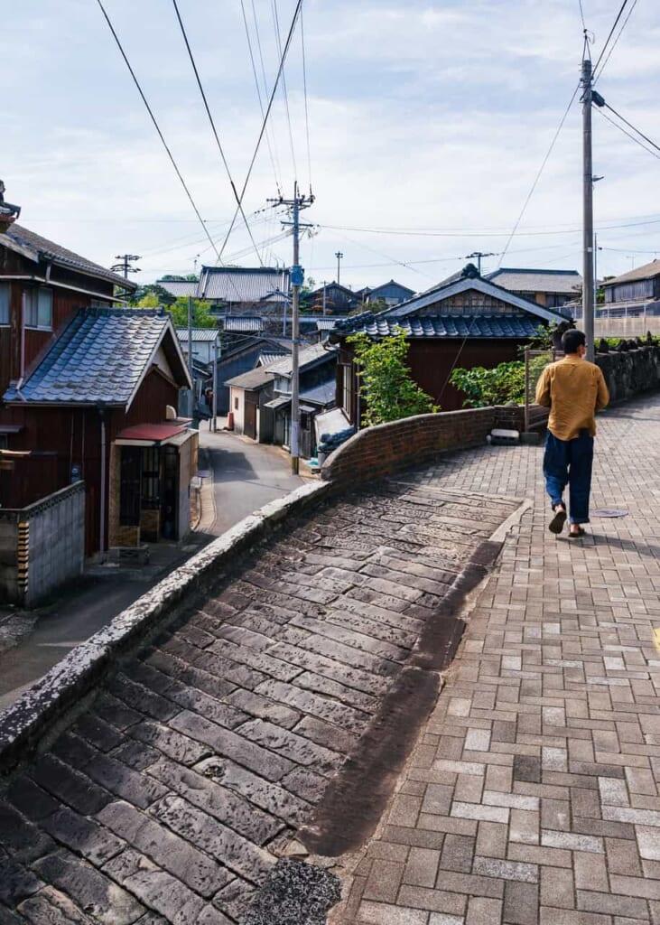 Paseando por las calles de Ojika