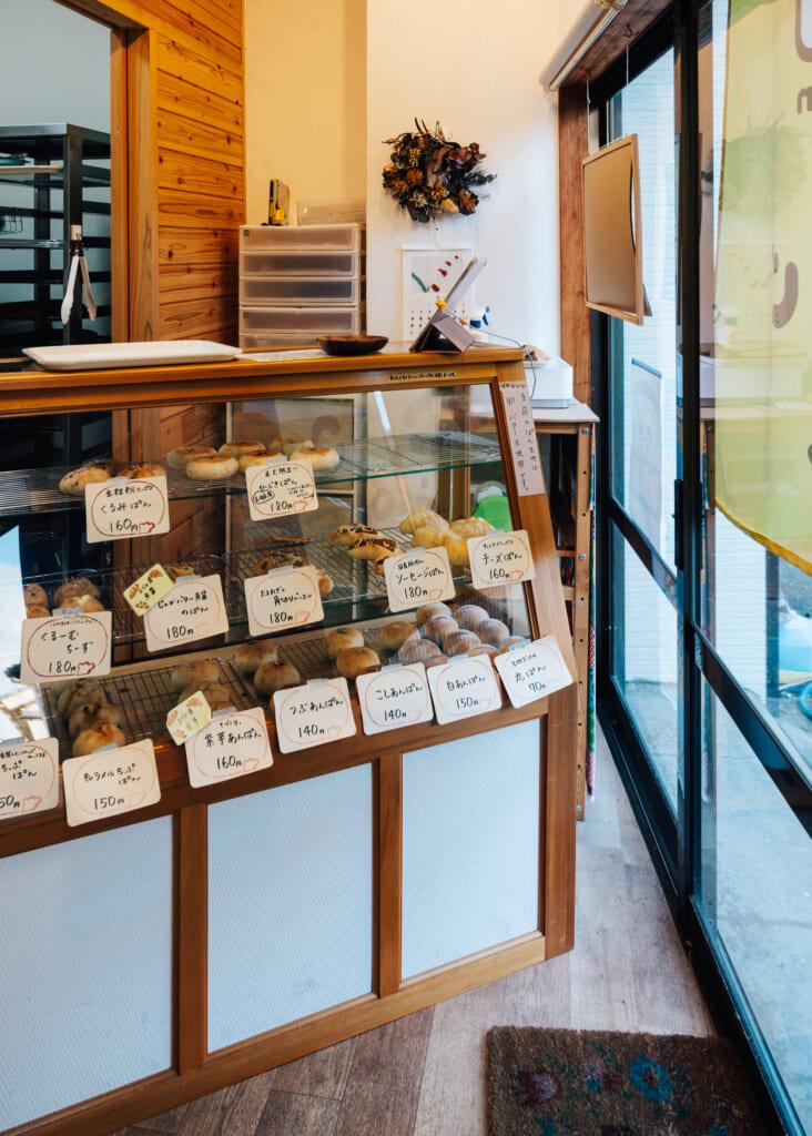 La pastelería, con sus productos ecológicos
