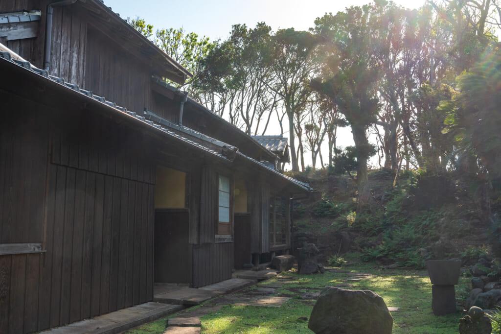 Una casa en el pueblo Nozaki