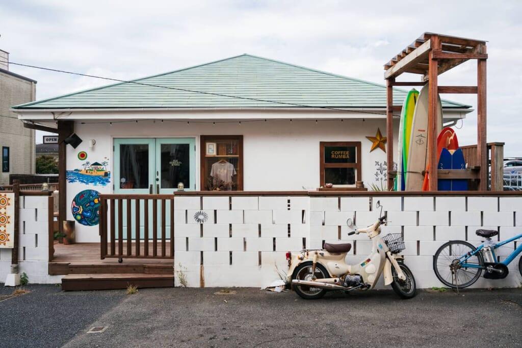 Casa con estilo surfero