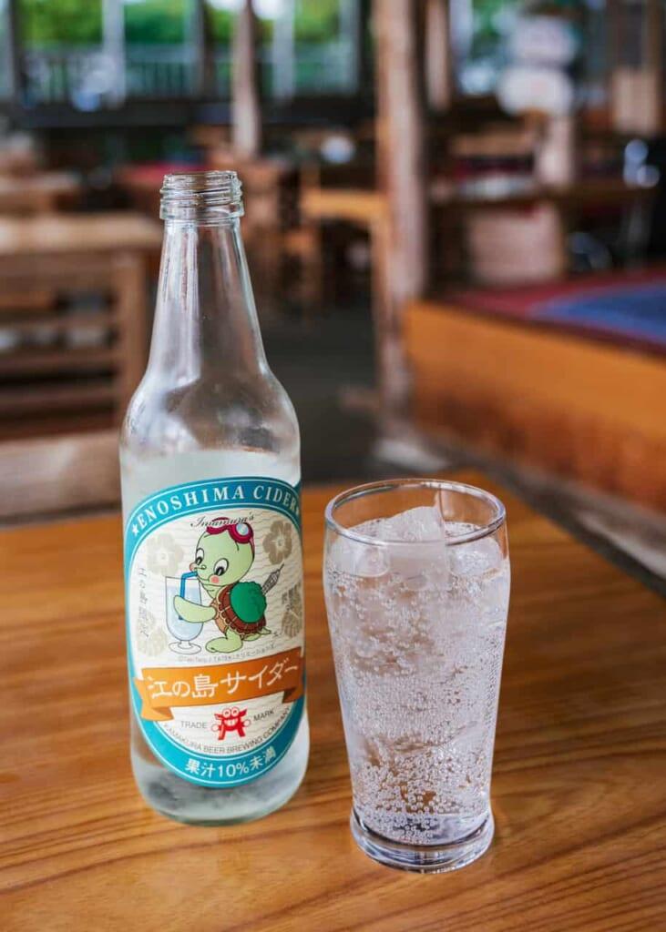 Bebida típica de la isla de Enoshima