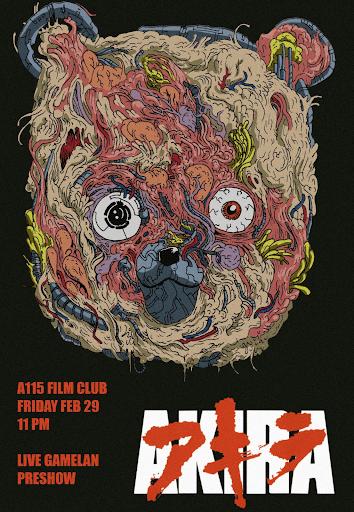 Poster promocional de la película Akira
