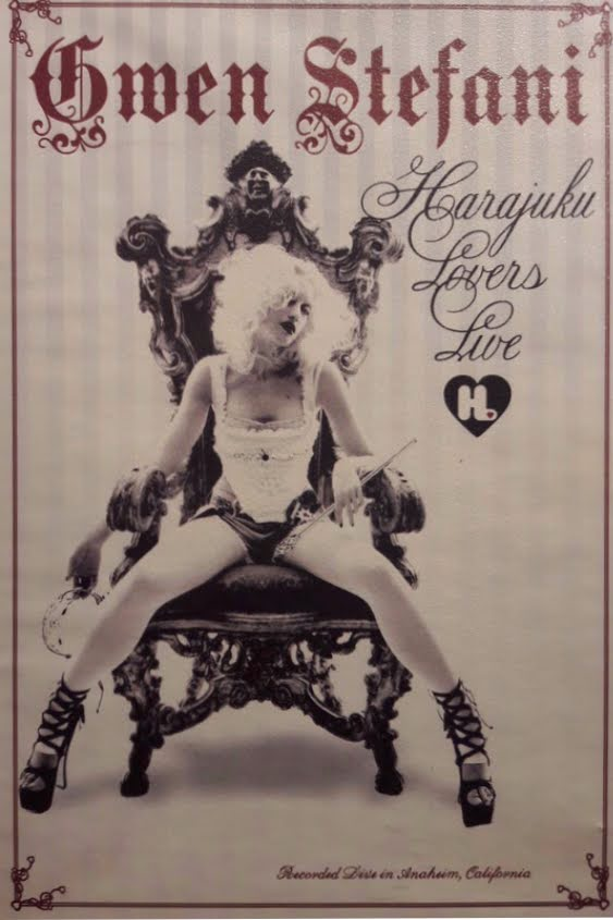 Harajuku lovers tour poster promocional