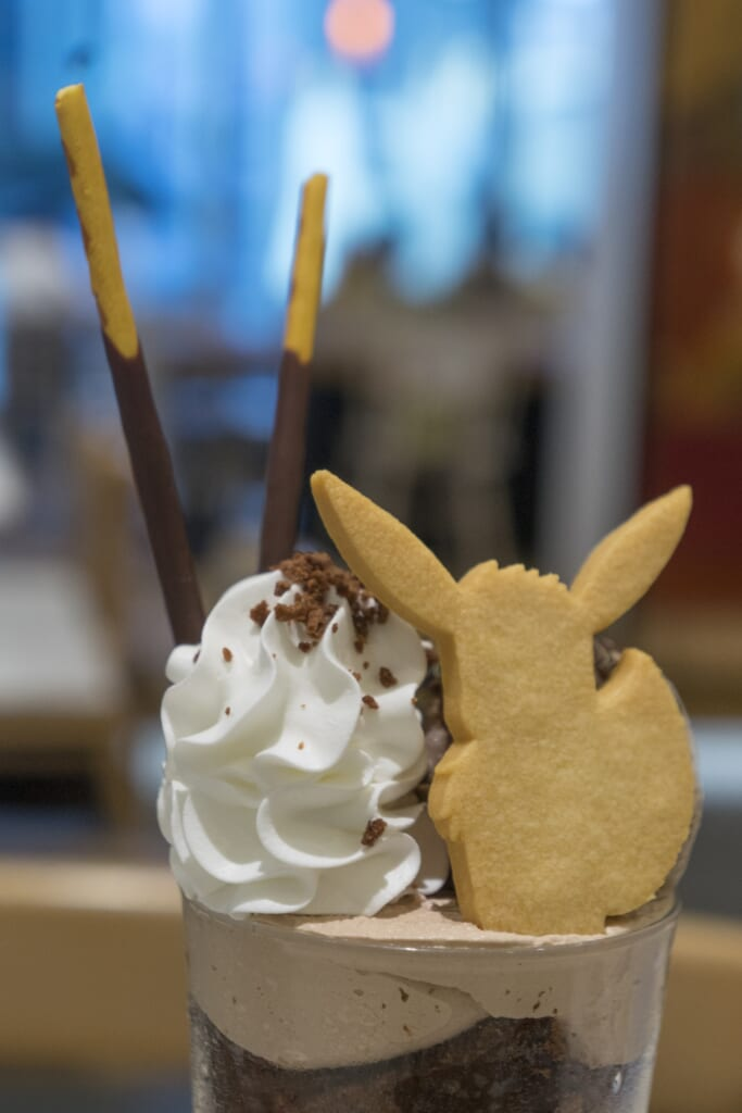 Detalle de Eevee's Sweet Chocolate Parfait