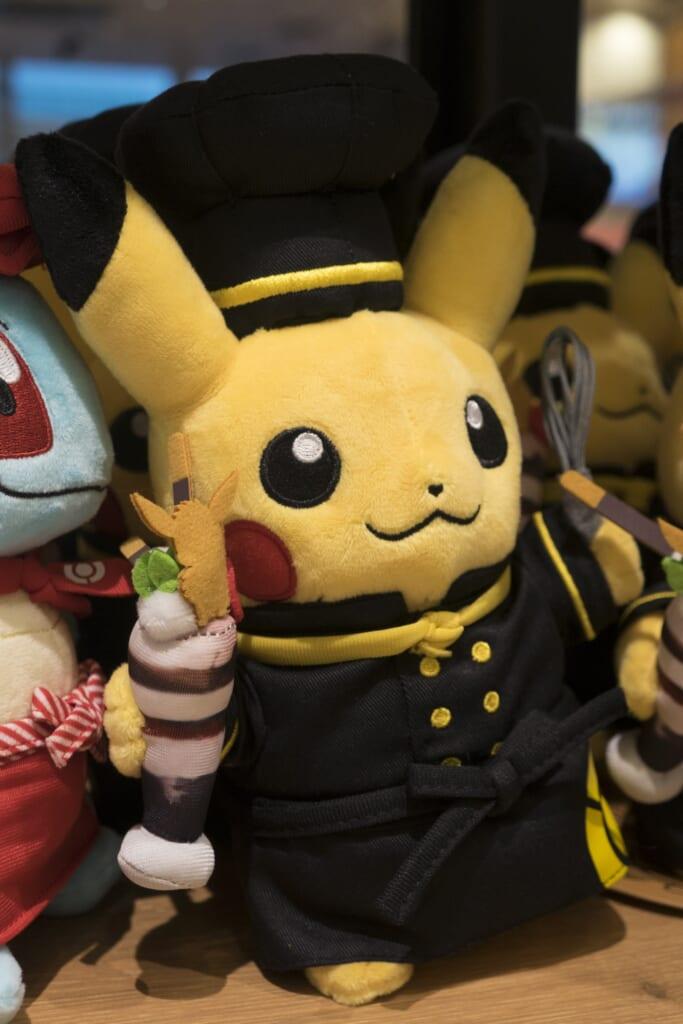 Pikachu Chef con Evee Chocolate Parfait