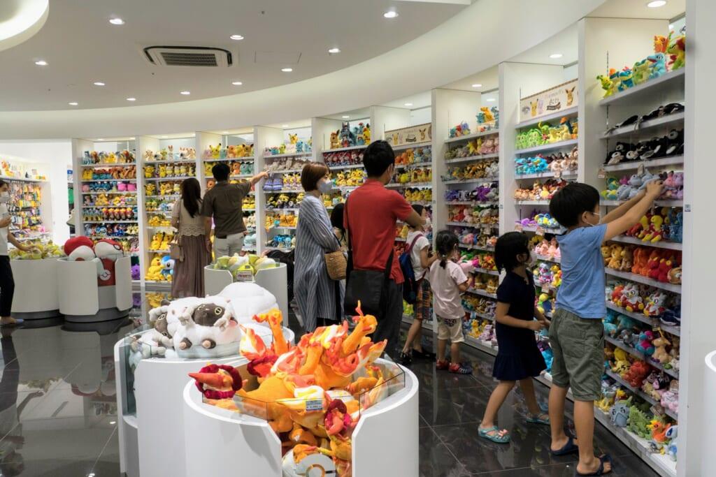 Tienda en Pokémon Center TOKYO DX
