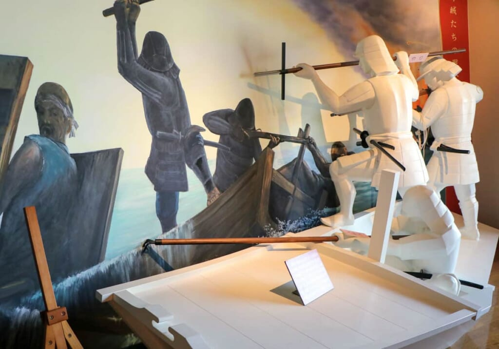 El Museo Murakami Kaizoku, hablando de los piratas japoneses del mar interior de Seto, Setouchi, Japón