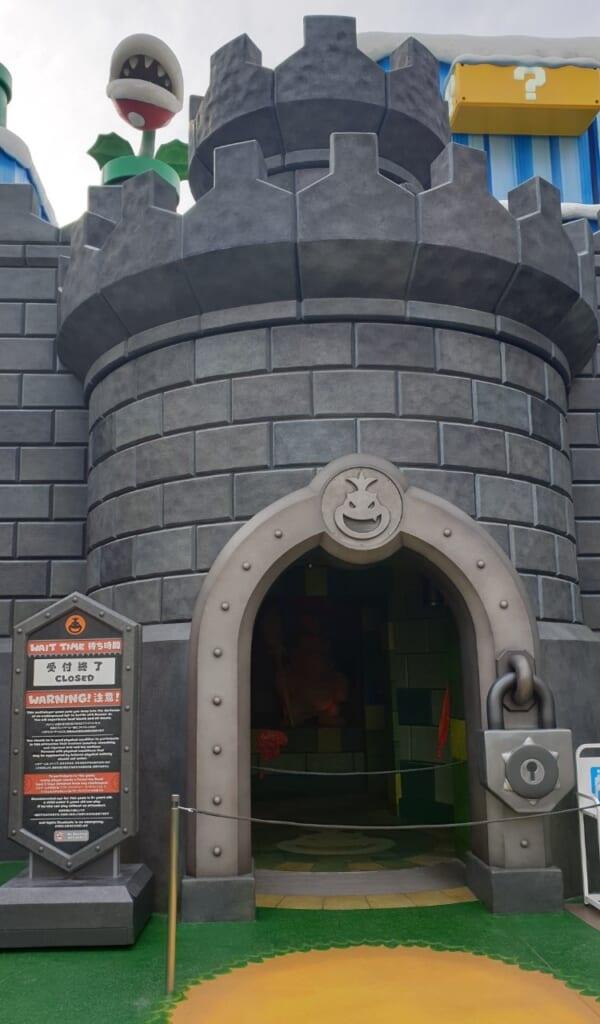 Entrada de una de las atracciones en Universal Studio Japan