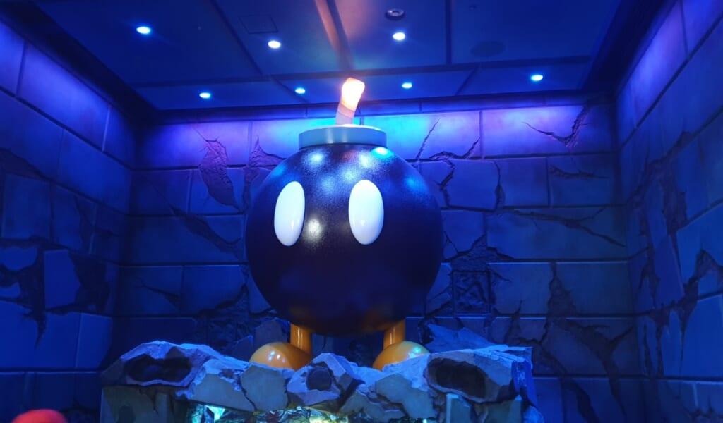 Una bomba, característico del videojuego de Mario Bross