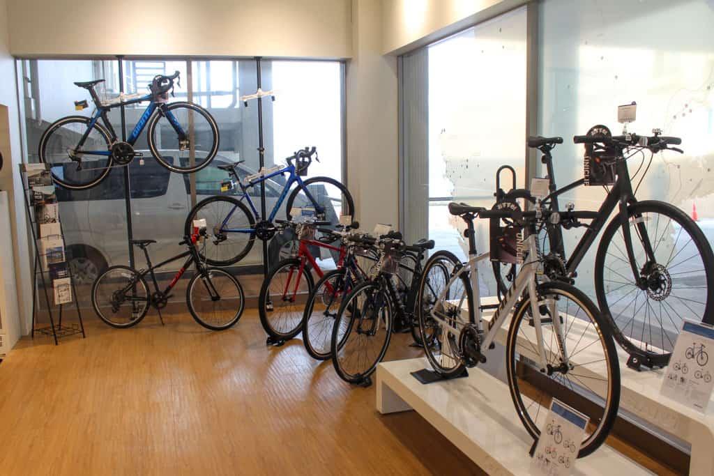 Alquilar bicis en Shirahama es muy fácil, en la prefectura de Wakayama