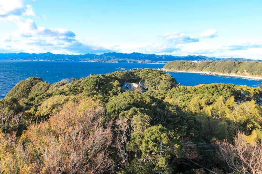 Una de las vistas más espectaculares de Wakayama