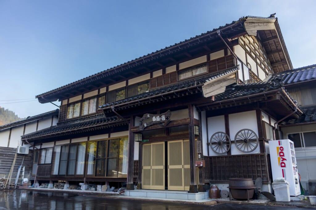La granja estancia en la prefectura de Ishikawa