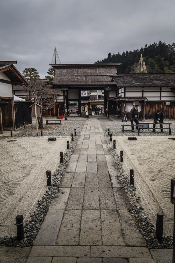 Entrada del Takayama Jinya