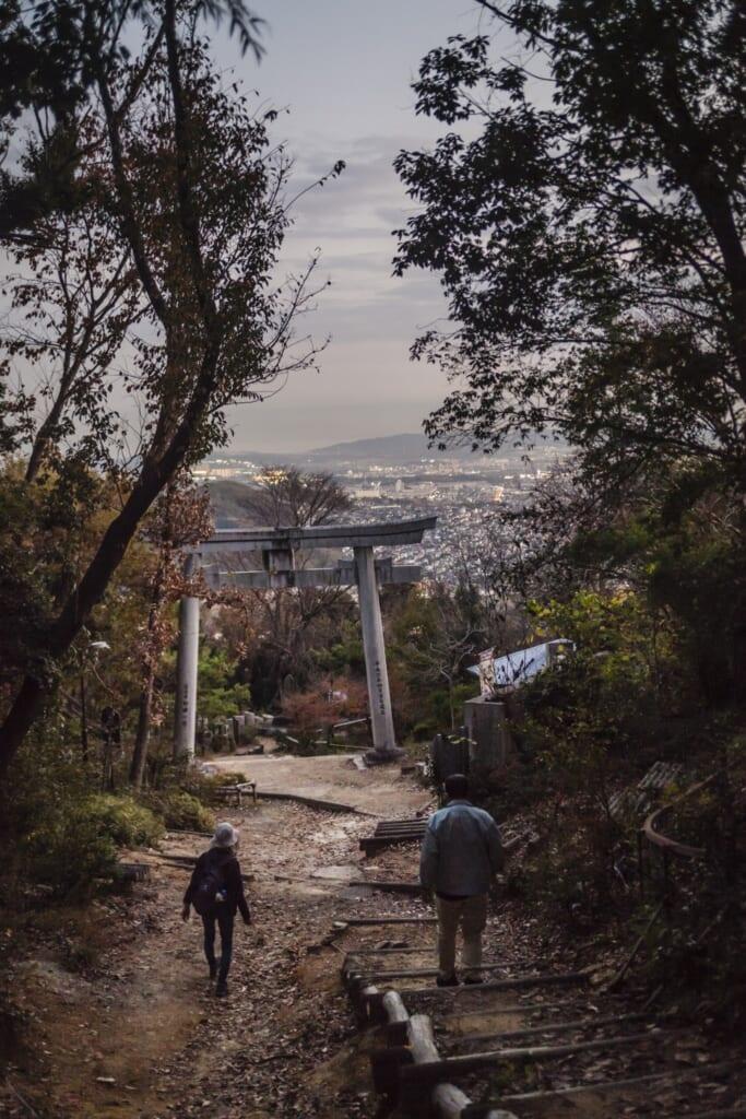 Vistas desde la cima del monte Tennozan
