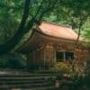 El edificio principal del templo Murouji cerca de Koyasan