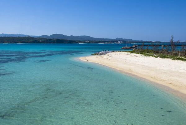 Las playas cristalinas de Okinawa