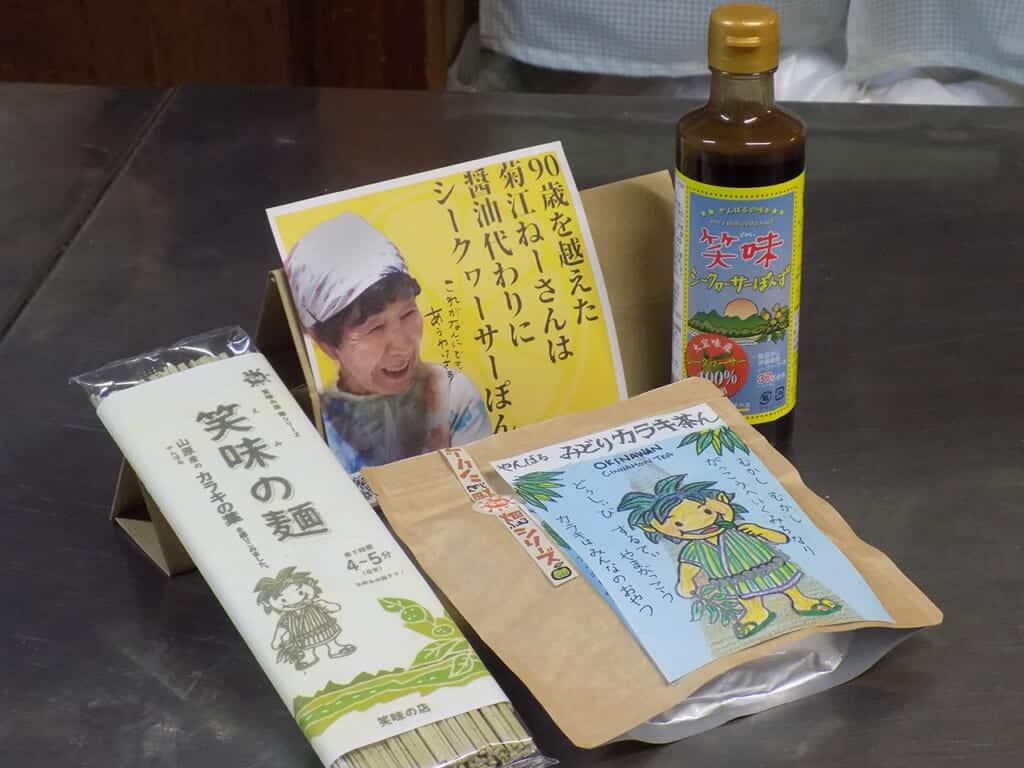Comida saludable para tu visita en Okinawa