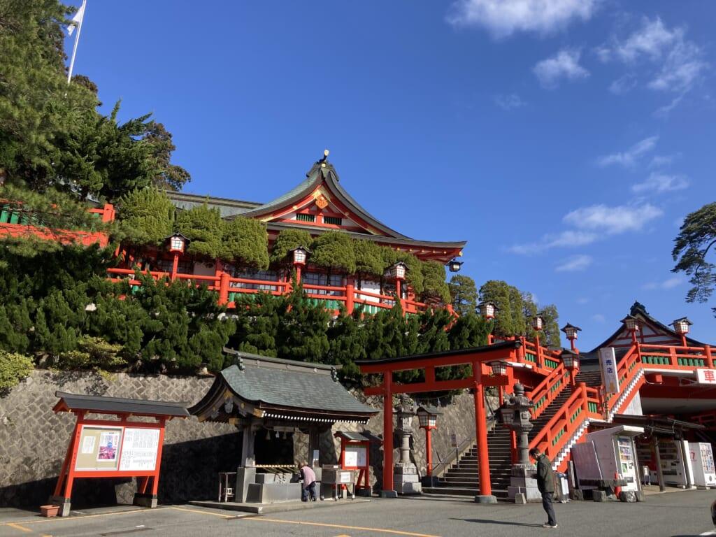 El santuario Taikodani Inari