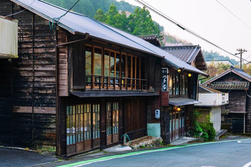 Una casa del Japón tradicional japonesa que ahora es un refugio para los turistas
