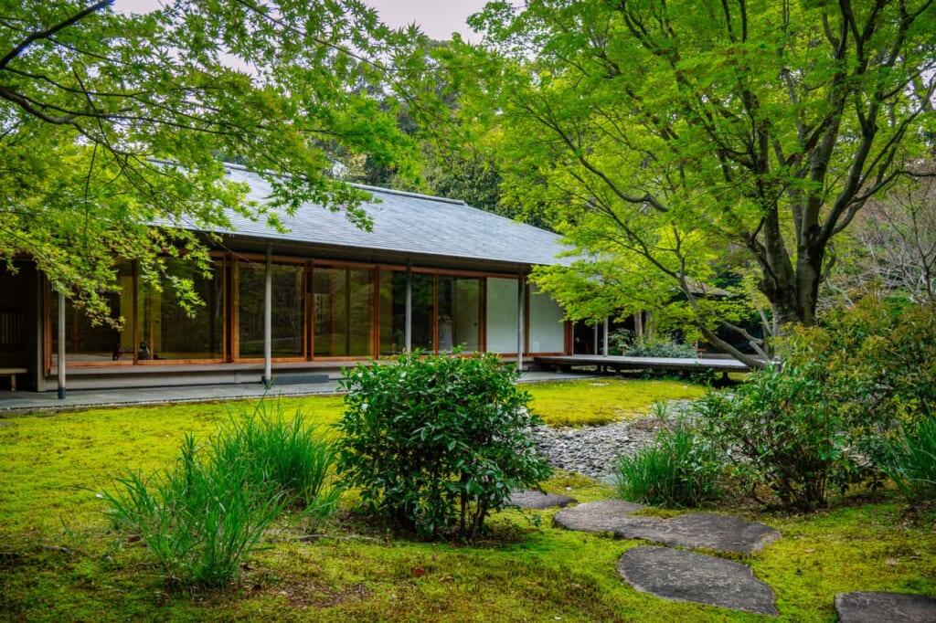 La casa del té en Hamamatsu