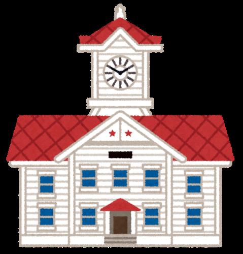 Ilustración de la Torre del Reloj de Sapporo