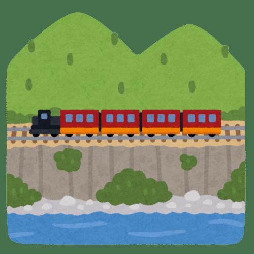 Un tren en Japón