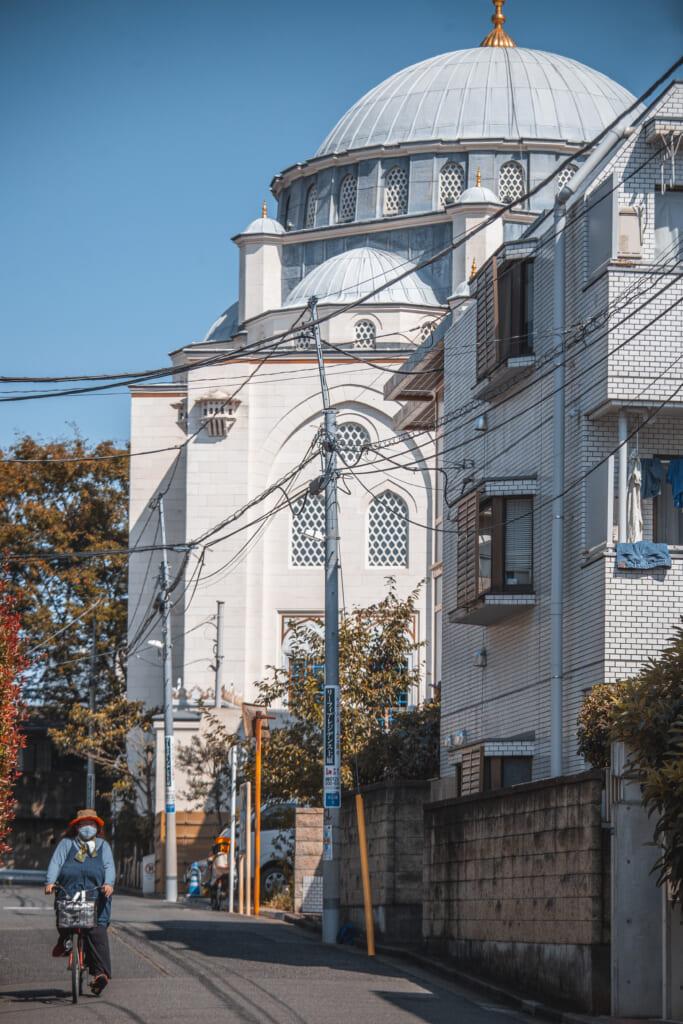 Religión en Japón: la mezquita en Tokio