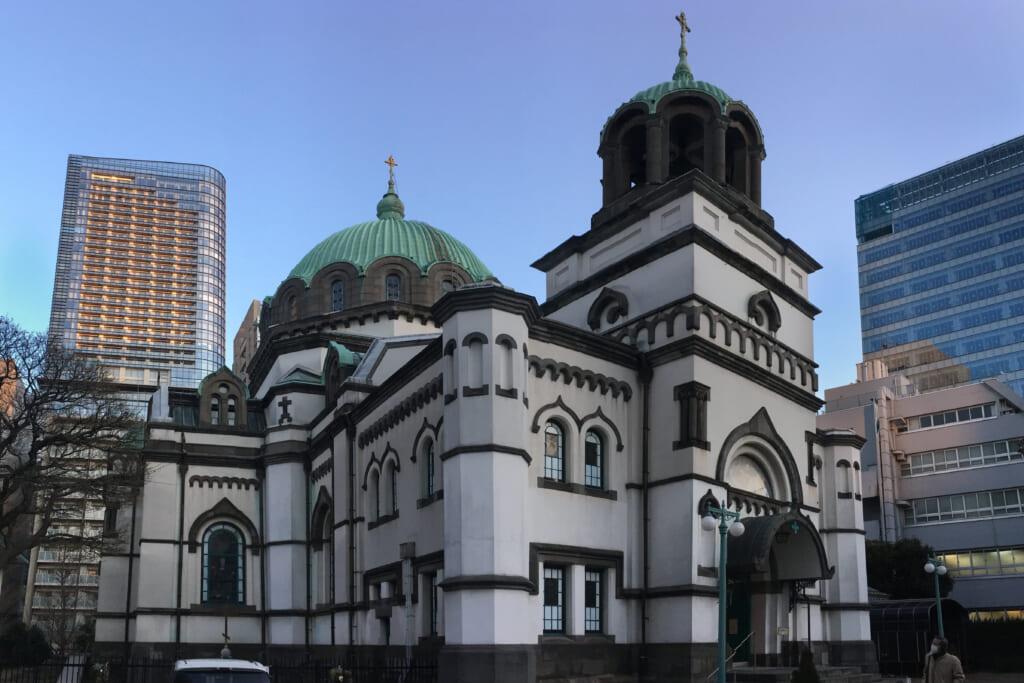 Religión en Japón: catedral ortodoxa