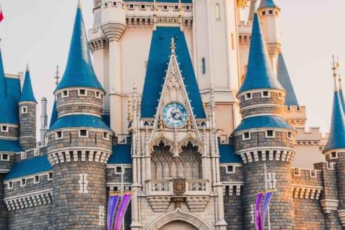 El castillo de Tokyo Disneyland