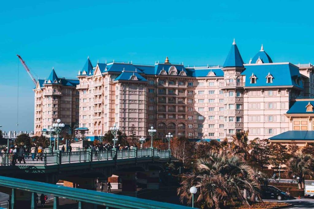 El hotel de Disneyland