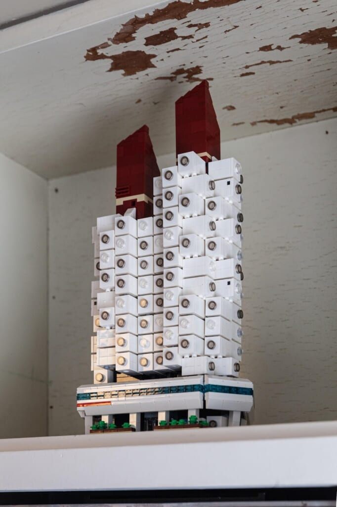 Figura LEGO de Nakagin Capsule Tower