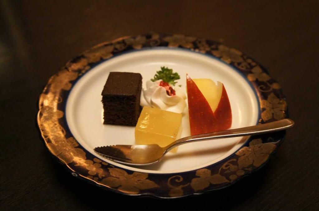 En la comida kaiseki, el postre puede variar mucho