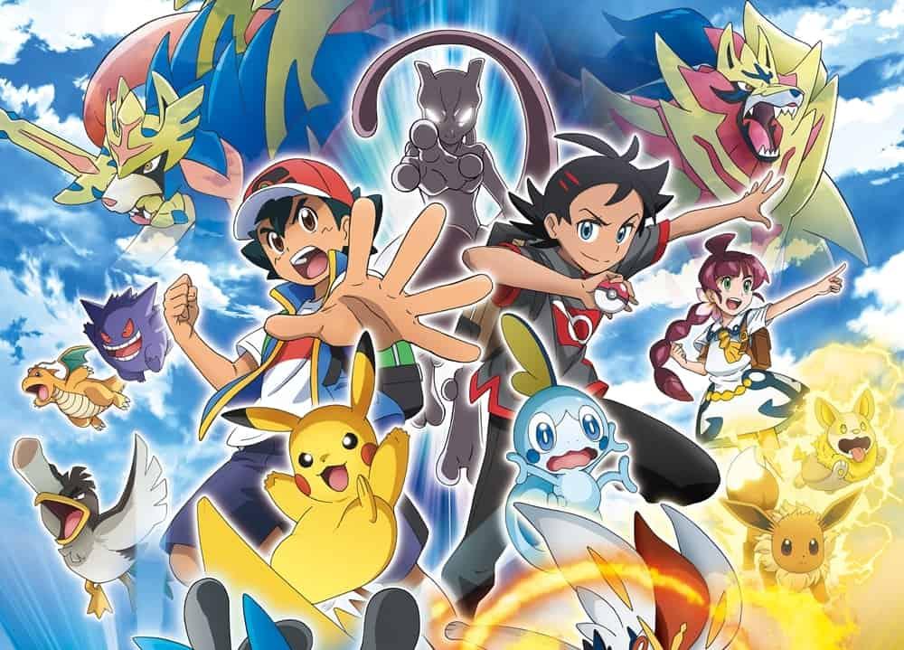 Imagen promocional de anime de Pokémon 2020
