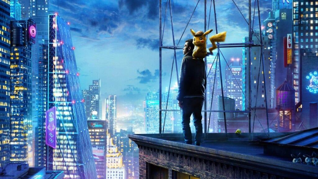 Imagen promocional de película Detective Pikachu 2019