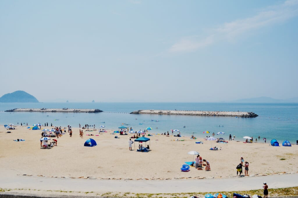 Las playas de matsuyama son un perfecto destino vacacional