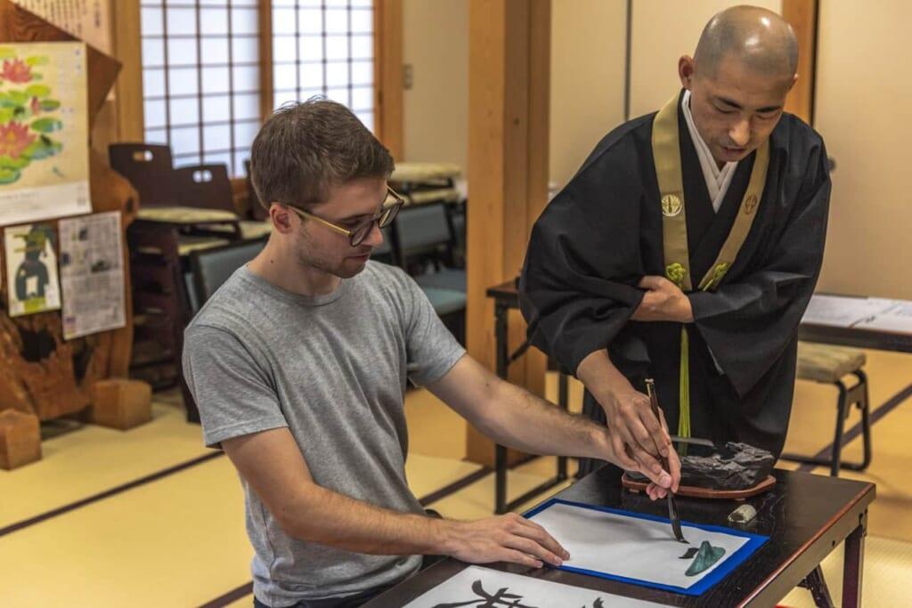 Escribiendo mi nombre con la caligrafía japonesa