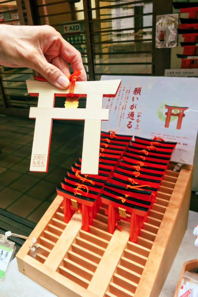 Pequeñas puertas torii