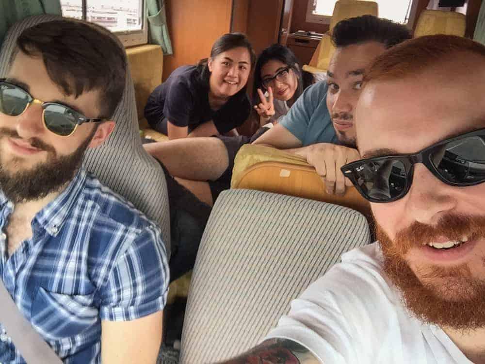 Viajar en autocaravana con amigos por Japón