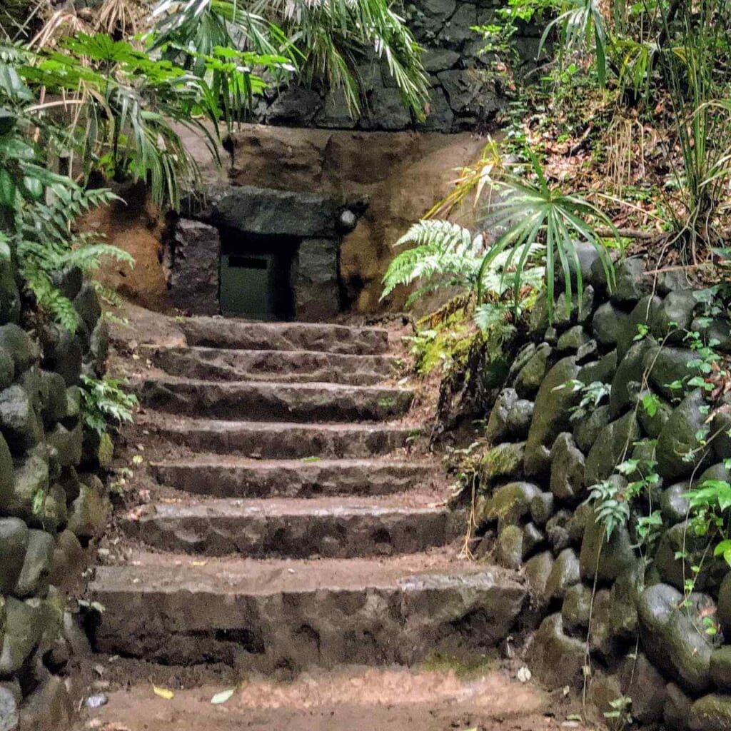 Tumba de túnel en Todoroki
