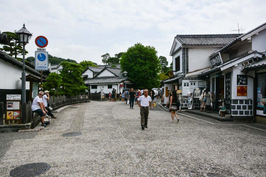 Das Bikan Viertel in Kurashiki, Okayama, Japan.