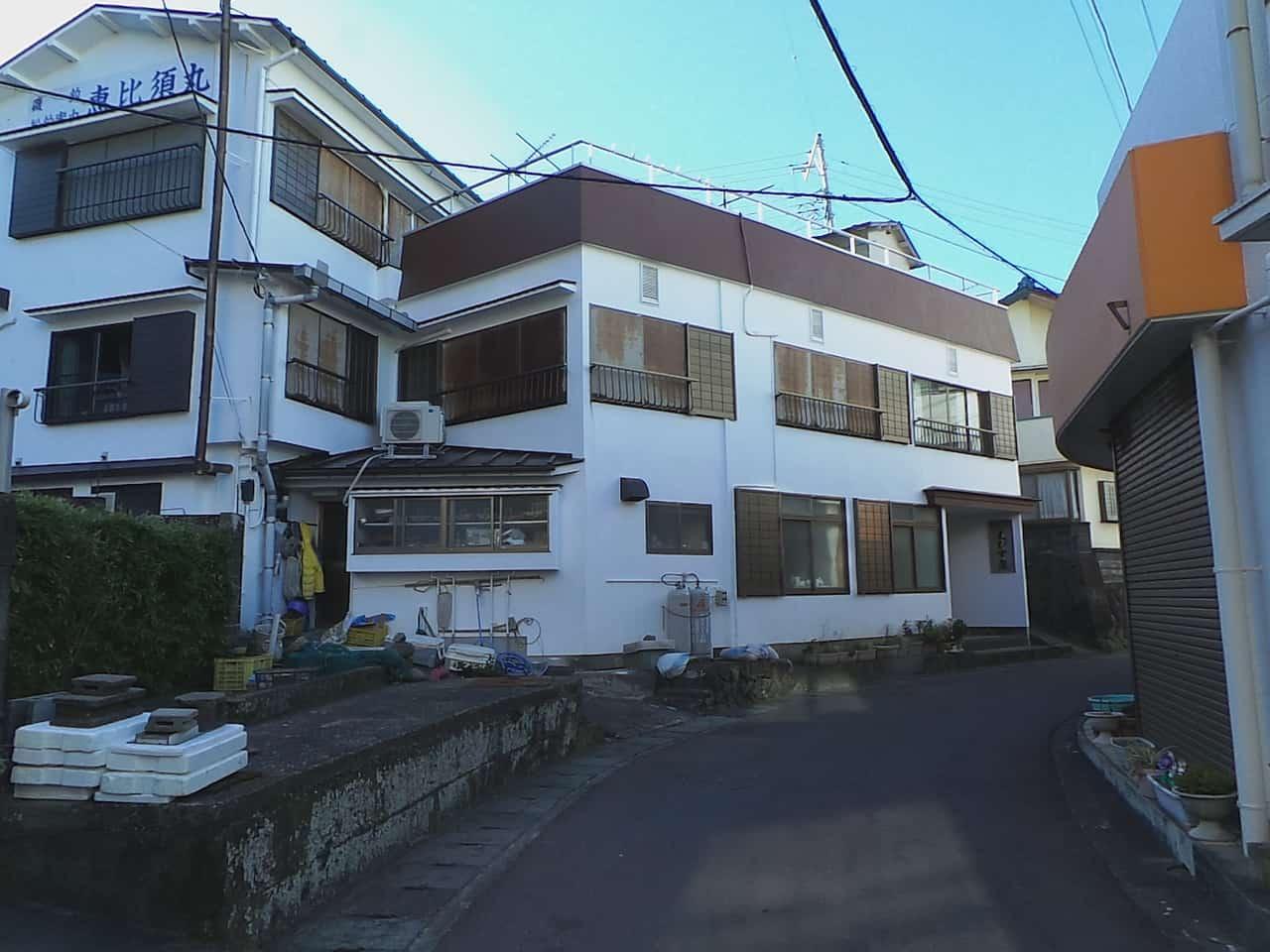 Minshuku bei Kumomi Onsen, Shizuoka, Japan