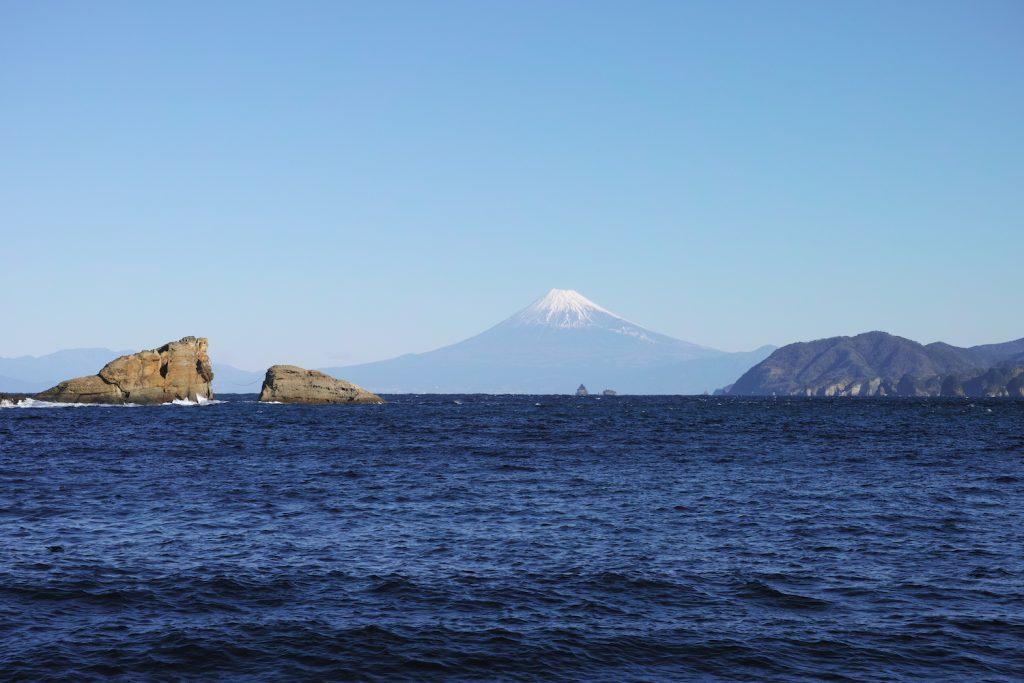 Blick auf den Berg Fuji, Shizuoka, Japan